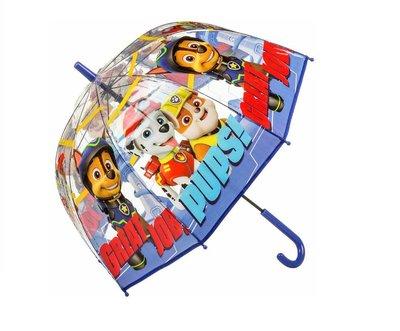 Paw Patrol paraplu transparant