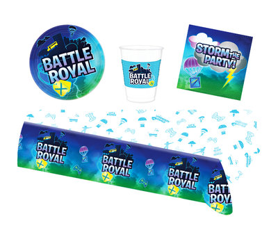 Fortnite feestpakket - voordeelpakket 8 personen