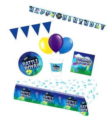 Fortnite feestpakket Deluxe - Pakket voor 8 personen