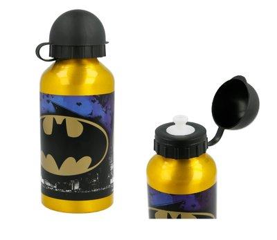 Batman bidon sportfles aluminium