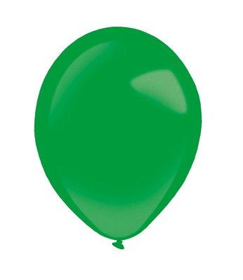 Ballonnen 30 centimeter unikleur groen