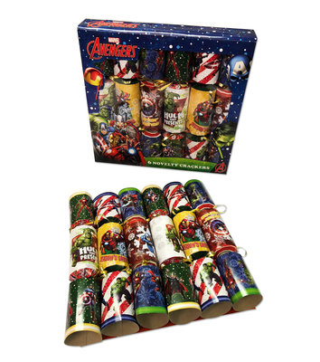 The Avengers party crackers 12 stuks