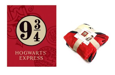 Harry Potter fleece deken Hogwarts Express
