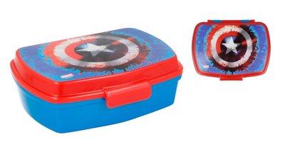 The Avengers broodtrommel - lunchbox Captain America