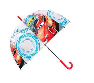 Disney Cars paraplu transparant