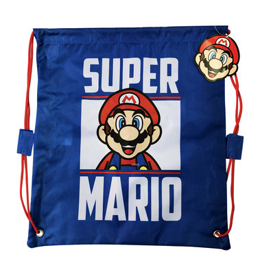 Super Mario gymtas - sporttas