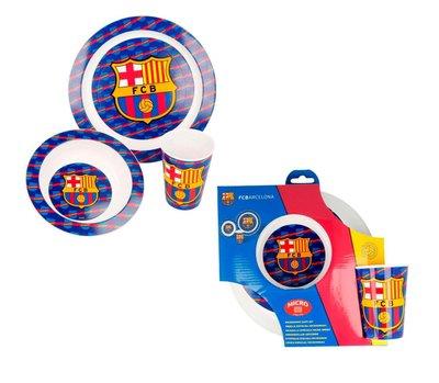 FC Barcelona 3-delig kinderservies
