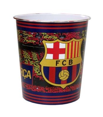 FC Barcelona kunststof Prullenbak - afvalemmer