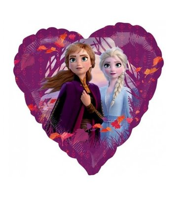 Disney Frozen 2 folie ballon Hart