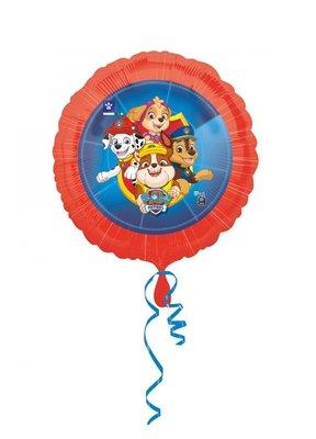 Paw Patrol folie ballon voor lucht en helium