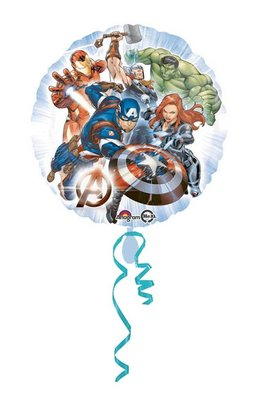 The Avengers folie ballon