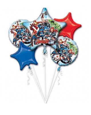 The Avengers folie ballonnen set