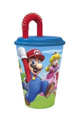 Super Mario drinkbeker met rietje