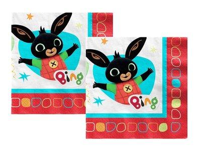 Bing het konijn servetten