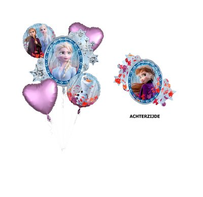 Disney Frozen 2 folie ballonnen set