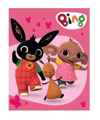 Bing het konijn fleece deken