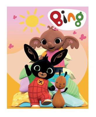 Bing het konijn fleece deken - plaid