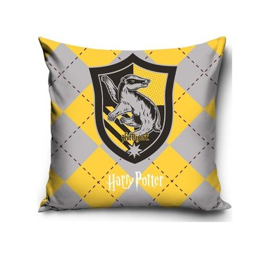Harry Potter kussen Hufflepuff