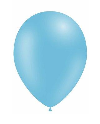 Ballonnen 30 centimeter unikleur lichtblauw