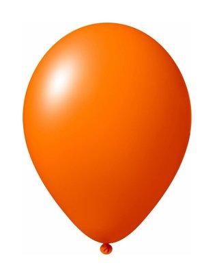 Ballonnen 30 centimeter unikleur oranje