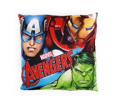 The Avengers kussen met Iron man, Captain America en de Hulk