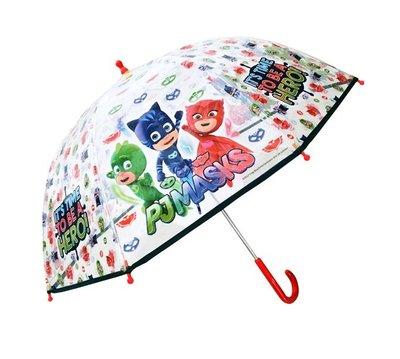 PJ Masks paraplu transparant