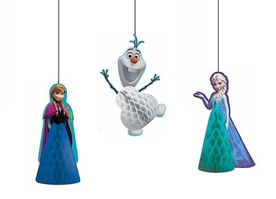 Disney Frozen honeycomb 3 delig set
