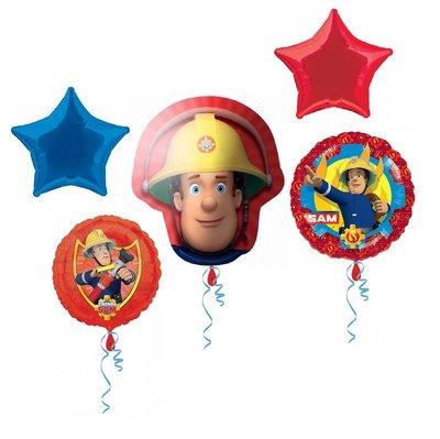 Brandweerman Sam folie ballonnen set