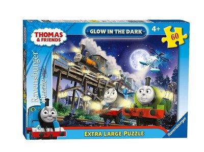 Thomas de Trein puzzel GLOW in The Dark 60 stukjes