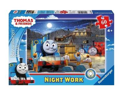 Thomas de Trein puzzel GLOW in The Dark 60 stukjes Night work