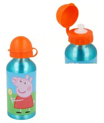 Peppa Pig bidon drinkfles aluminium