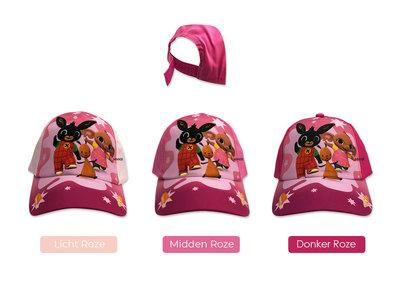 Bing het konijn baseball cap roze