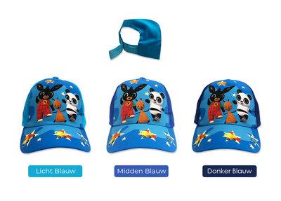 Bing het konijn baseball cap blauw
