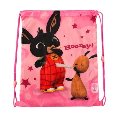 Bing het konijn gymtas roze