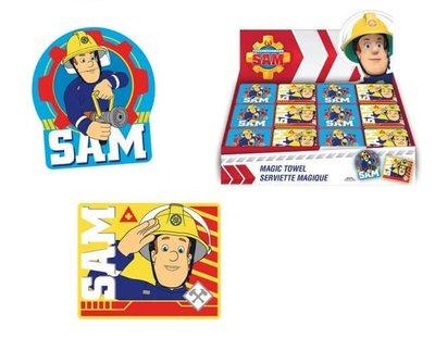 Brandweerman Sam magisch handdoekje * uitdeel cadeautje *