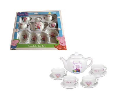 Peppa Pig kinder thee servies - 10 delig
