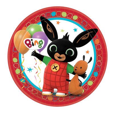 Bing het konijn party bordjes