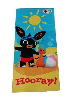 Bing het konijn strandlaken 70x140cm Hooray!