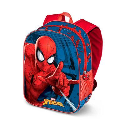 Spiderman rugzak met 3D voorkant