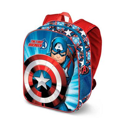 The Avengers Captain America rugzak met 3D voorkant
