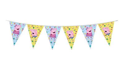 Peppa Pig vlaggenlijn - slinger