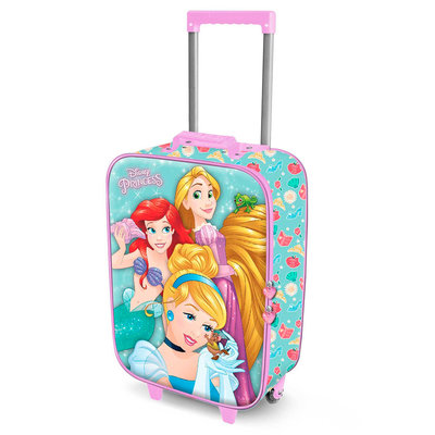 Disney Princess trolley - reiskoffer Ariël en Rapunzel