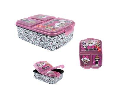 L.O.L. Surprise broodtrommel - lunchbox 3 vaks