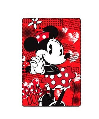 Minnie Mouse fleece deken Glam Dots