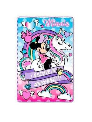 Minnie Mouse fleece deken Unicorns