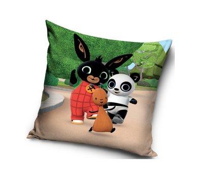 Bing het konijn kussen met Flop Pando en Bing