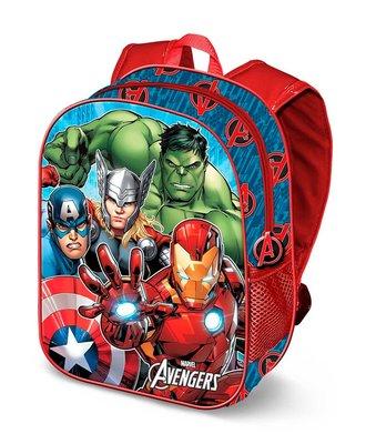 The Avengers rugzak met 3D voorkant
