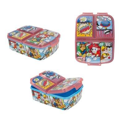 Paw Patrol broodtrommel - lunchbox 3 vaks