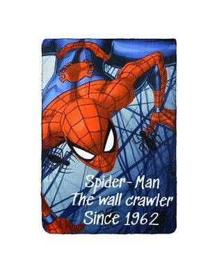 Spiderman fleece deken Since 1962