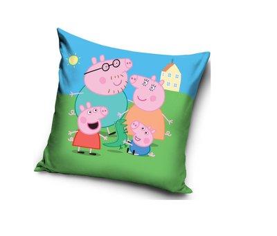 Peppa Pig kussen - sierkussen Family